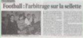 Le progres du 15-03-09 (mini) arbitrage