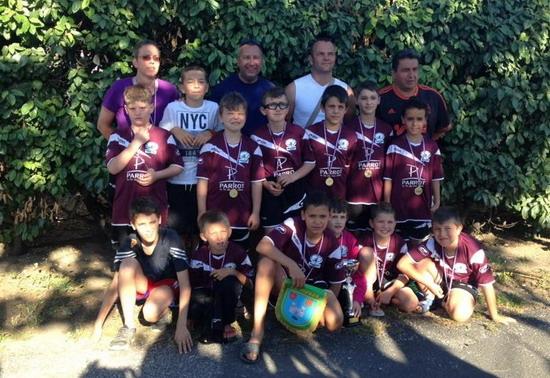 U11 tournoi à Pignan